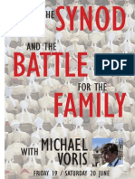 The Synod and the Battle for the Family