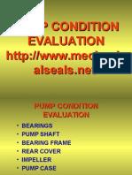 Pump Condition Evaluation