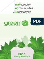 2011 Platform - Green Party of Canada