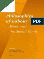 Jean Phillipe Deranty e Nicholas Smith - New Philosophies of Labour