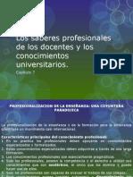 Los Saberes Profesionales de Los Docentes y Los