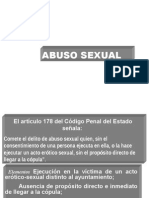 Abuso Sexual Impresion 2014 2