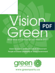 2008 Platform - Green Party of Canada