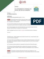 Regimento Interno 1 1996 Rio de Janeiro RJ