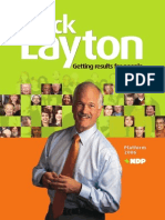 2006 Platform - New Democratic Party