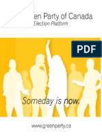 2004 Platform - Green Party of Canada