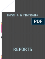 Topic 6- Reports and Proposals