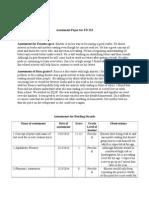 assessments for reading strands