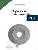 Meltzer, Donald - El Proceso Psicoanalítico - Ed. Hormé