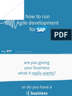 How to Run Agile Development for SAP eBook