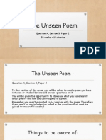 the unseen poem