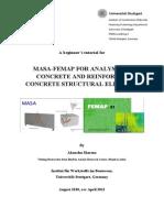 Full MASA FEMAP Tutorial for RC Structural Elements Rev-April2012[1]