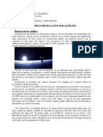 Informe de comunicaciones satelitales