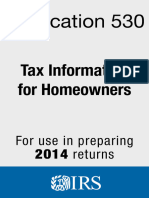 IRS p530 - Tax Information for Homeowners