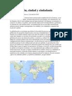 Globalización - Sabrina Gaudino