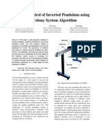Optimal Control of Inverted Pendulum Using Ant Colony System Algorithm2