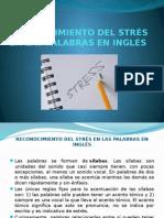 3 Reconocimiento Del Strés en Las Palapras en Inglés