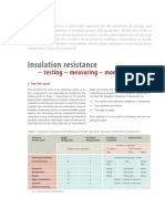Article Insulation Resistance Testing Measuring Monitoring En