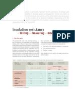 Article Insulation Resistance Testing Measuring Monitoring En