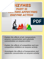 Enzymes II CAPE Biology Unit 1