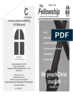 The Fellowship - Issue 3, June 2015