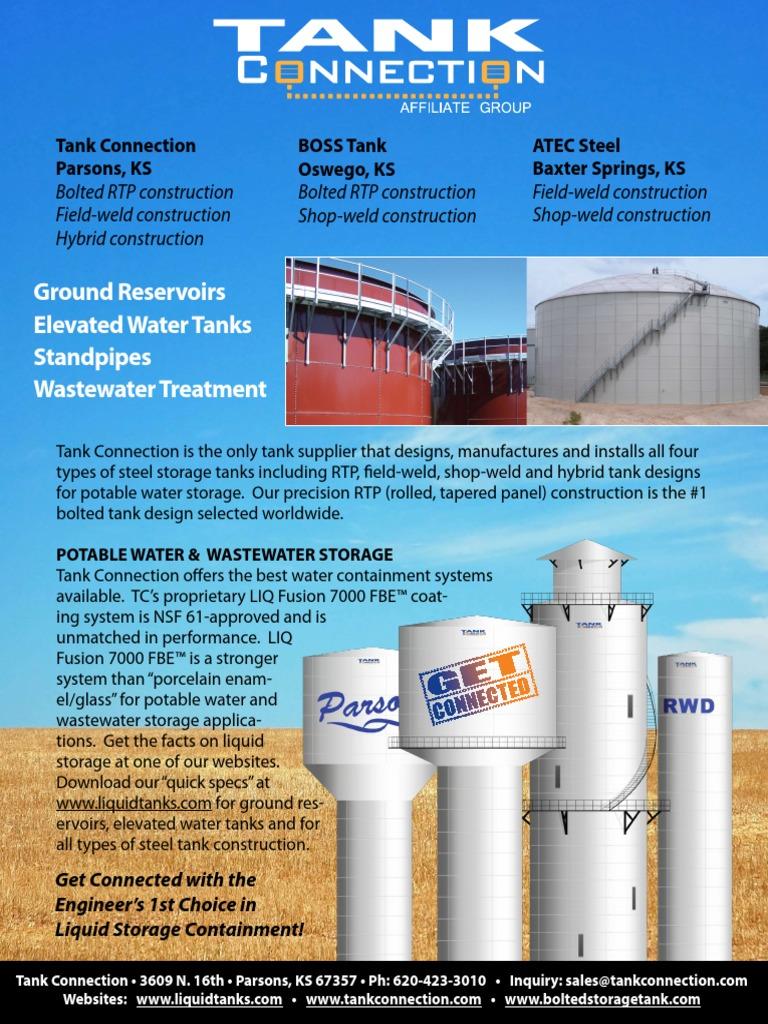 Water & Elevated Water Tanks