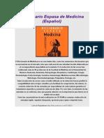 Diccionario Espasa de Medicina