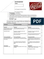 rotation two homework sheet coke