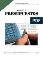 Modulo 2 Presupuestos