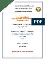 Resumen Niveleacion_T4