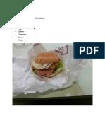 Burger Recipeies