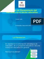 2 Planeamiento Estrategico de Mercadeo Sector Educativo