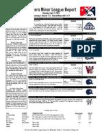 Minor League Report 15 06 02