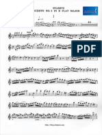 Stamitz clarinet concerto