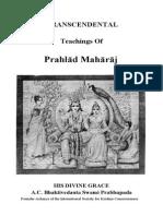 Transcendental TeaTranscendental_Teachings_of_Prahlad_Maharaj-1973_Originalchings of Prahlad Maharaj-1973 Original