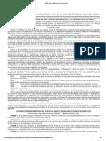 Publicación en diario de la federación por la educación abierta