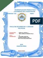 Derecho Laboral III Monografia