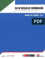 Manual Usuario simulacro y sismos