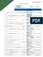 Plan Calendario Quimica 2012-II