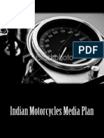 Sample Media Plan for Indian Motorcycles