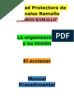 Perros Ramallo, Presentación, Manual Procedimental (3)
