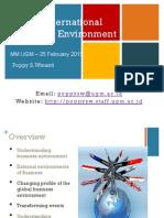 International Political Environment-Feb2015 __Dosen Poppy S.winanti,MA,M.ec.Dev.,Ph.D(1)