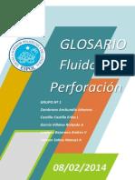 GLOSARIO DE FLUIDOS DE PERFORACIÓN EN ECUADOR