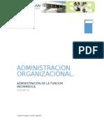 Investigacion Unidad 1- Administración Organizacional