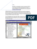 Bookmarks in Adobe Acrobat