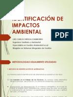 Identificación Impactos Ambientales