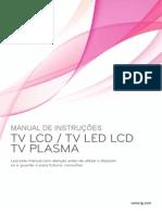 Manual LG LCD LED Portuguese