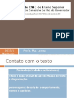 FACIG Estrategia de Leitura 2015 1