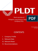 Stock Analysis of PLDT company