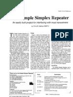 The Simple Simplex Repeater
